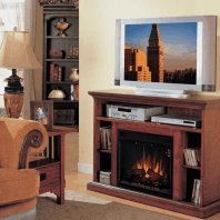 Country Home-entertainment mantel