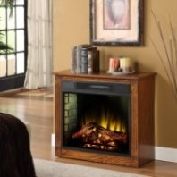 Annie- mantel with electric fireplace