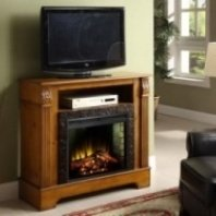 Bryant-mantel with electric fireplace